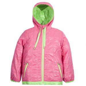 Ветровка на девочку Одягайко 2647 светло-розовая