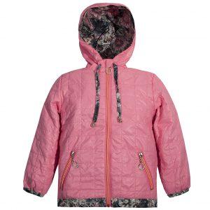 Ветровка на девочку Одягайко 2647 розовая