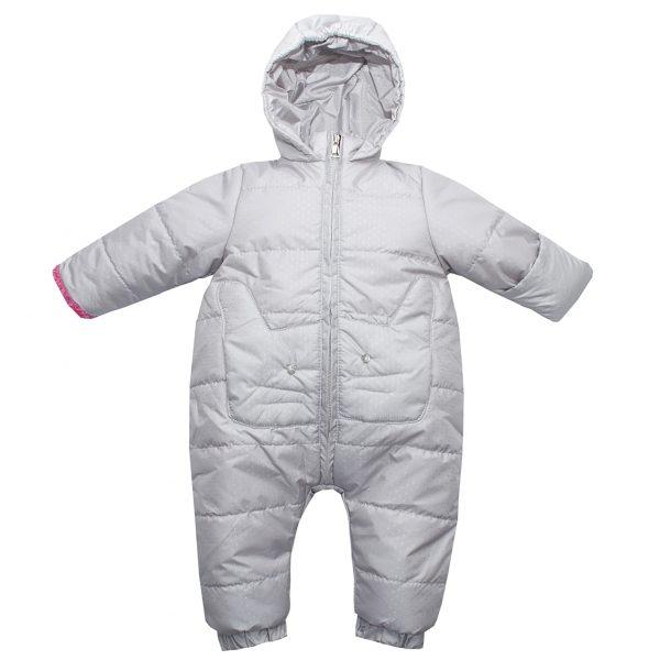 Комбинезон Одягайко 30036 серый