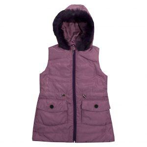 Жилет Одягайко 7227 фиолетовый