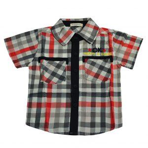 Сорочка на хлопчика 9769 червона