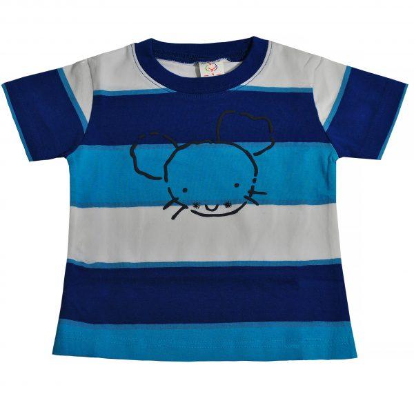 Футболка на хлопчика 9716 синя