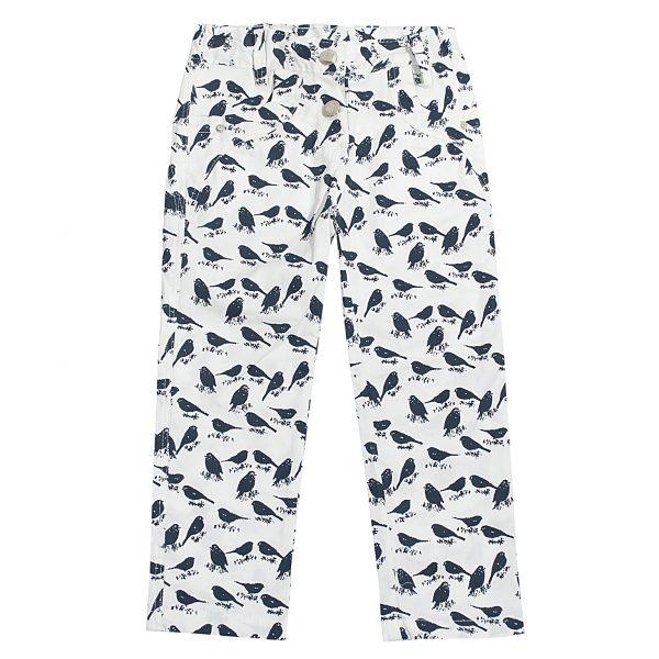 Штани Одягайко для дівчинки 00176 білі
