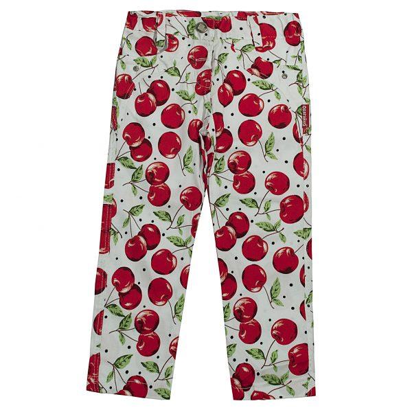 Штани Одягайко для дівчинки 00176 вишеньки