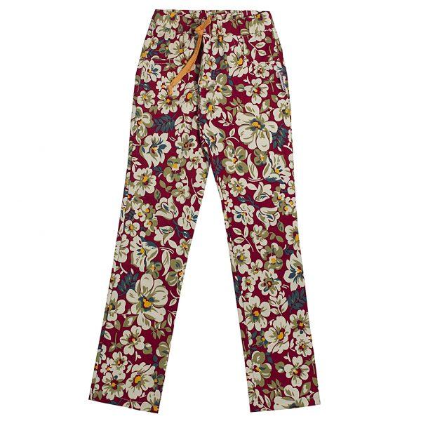 Штани Одягайко для дівчинки 00177 червоні