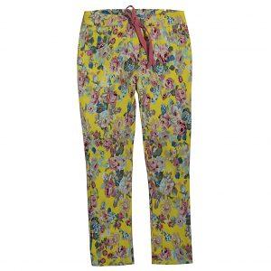 Брюки Одягайко для девочки 00177 желтые