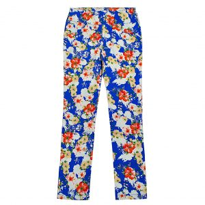 Брюки Одягайко для девочки 00182 синие