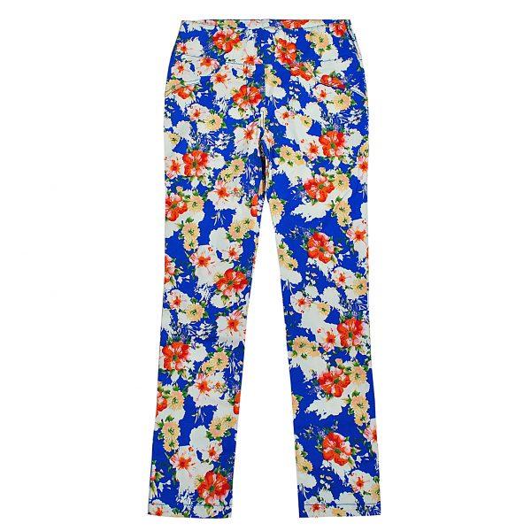 Штани Одягайко для дівчинки 00182 сині