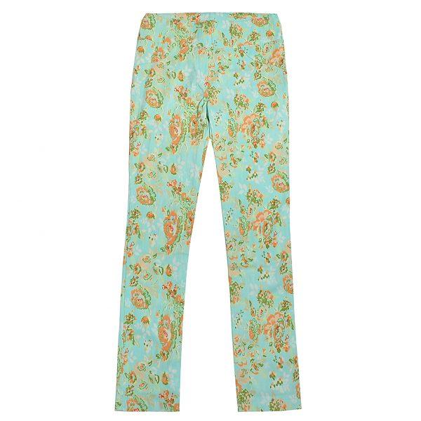 Штани Одягайко для дівчинки 00182 бірюзові