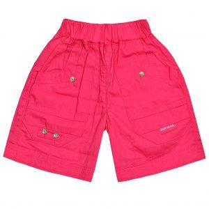 Шорти Одягайко для дівчинки 00125 рожеві