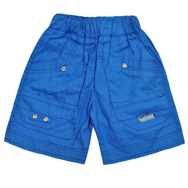 Шорты Одягайко для мальчика 00125 голубые
