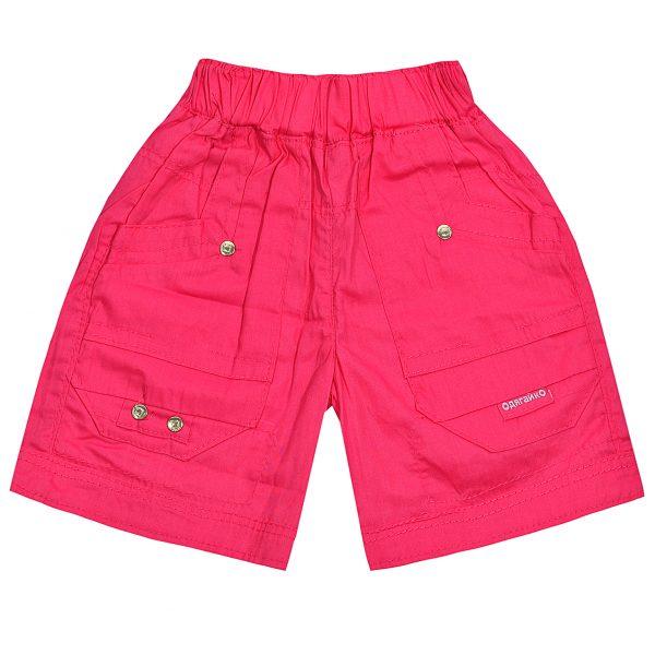 Шорты Одягайко для девочки 00125 розовые