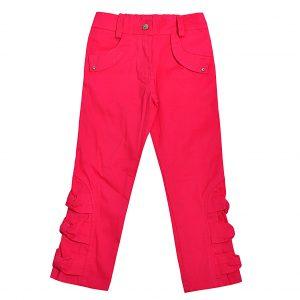 Штани Одягайко для дівчинки 01084 рожеві