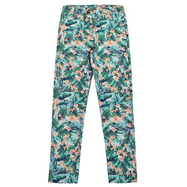Штани Одягайко для дівчинки 01228 зелені