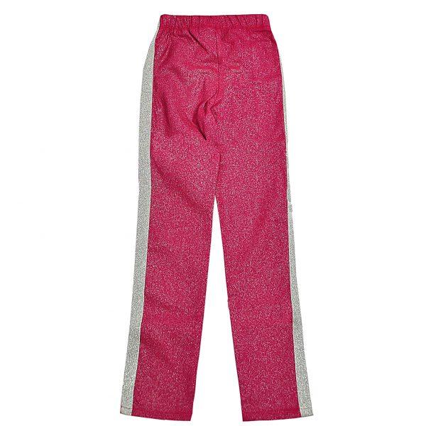 Брюки Одягайко для девочки 01275 малиновые