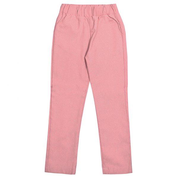 Штани Одягайко для дівчинки 01276 рожеві