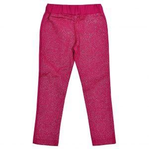 Брюки Одягайко для девочки 01276 малиновые