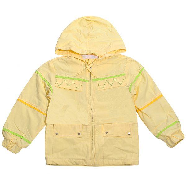 Куртка Одягайко 2044 светло-желтая