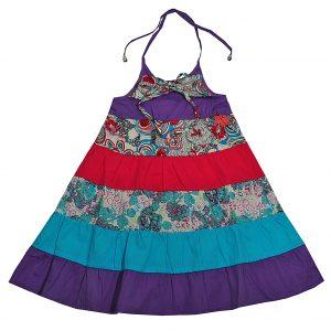 Сарафан Одягайко 498 фиолетовый