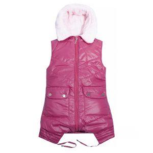 Жилет Одягайко 7179 рожева