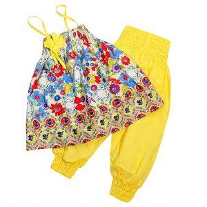 Костюм Одягайко 756-01074 желтый