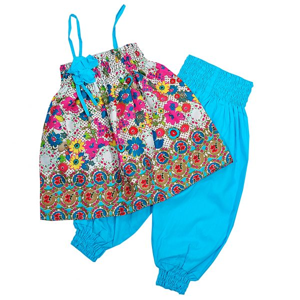 Костюм Одягайко 756-01074 голубой