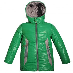 Куртка Одягайко 22018 зелена