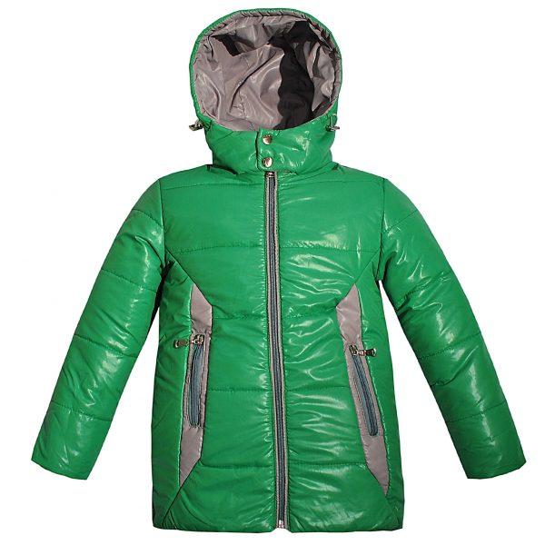 Куртка Одягайко 22018 зеленая