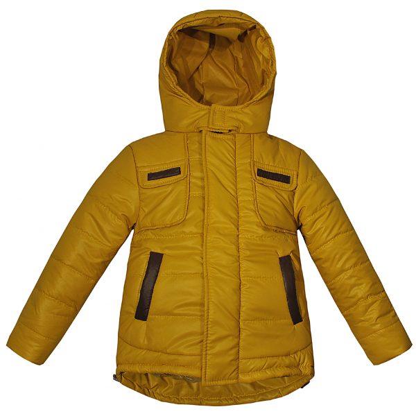 Куртка 22048 горчичная