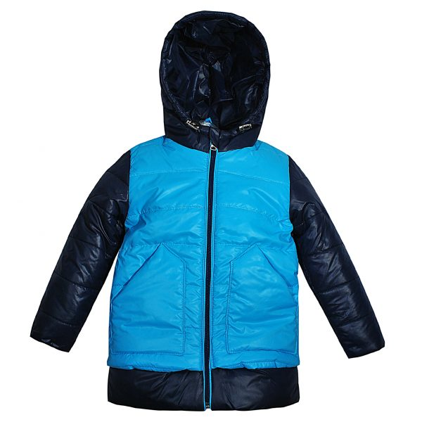 Куртка Одягайко 22067 голубая