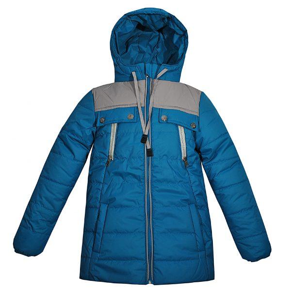 Куртка 22147 синяя