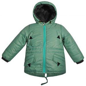Куртка Одягайко 22172 зеленая