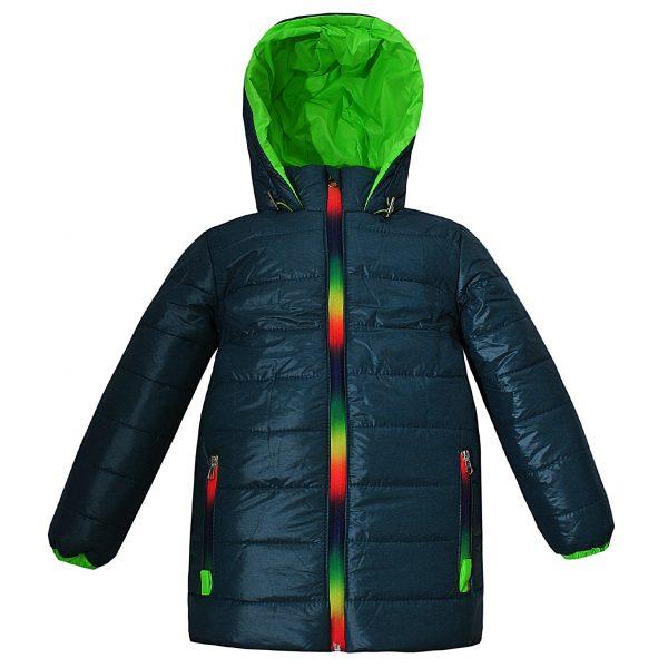 Куртка Одягайко 22173 темно-зеленая