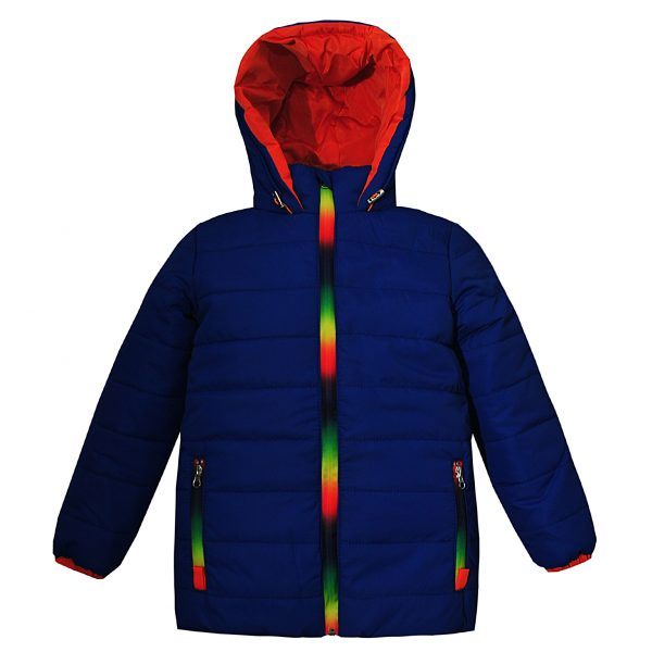 Куртка Одягайко 22173 синяя
