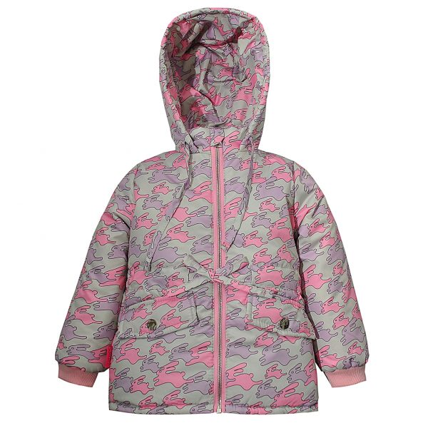 Куртка Одягайко 22456 розовая
