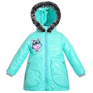 Куртка Одягайко 22458 бирюзовая