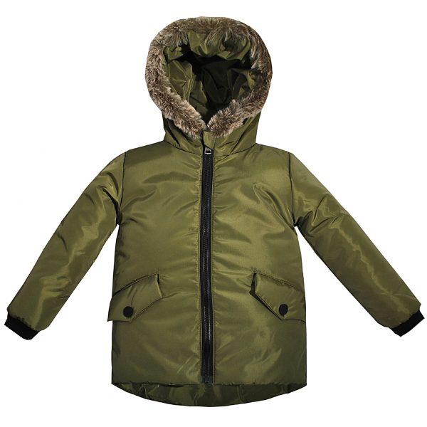 Куртка Одягайко 22477 оливковая