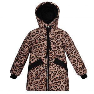 Куртка Одягайко 22502 коричнева