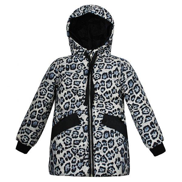 Куртка Одягайко 22502 сіра