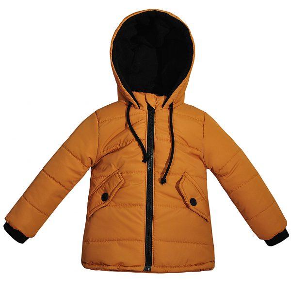 Куртка 22510 горчичная