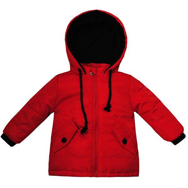 Куртка 22510 червона