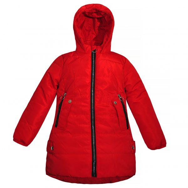 Куртка Одягайко 22525 червона