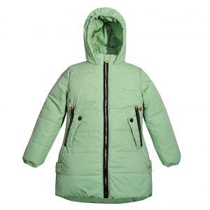 Куртка Одягайко 22525 светло-зеленая