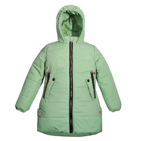 Куртка 22525 зелена