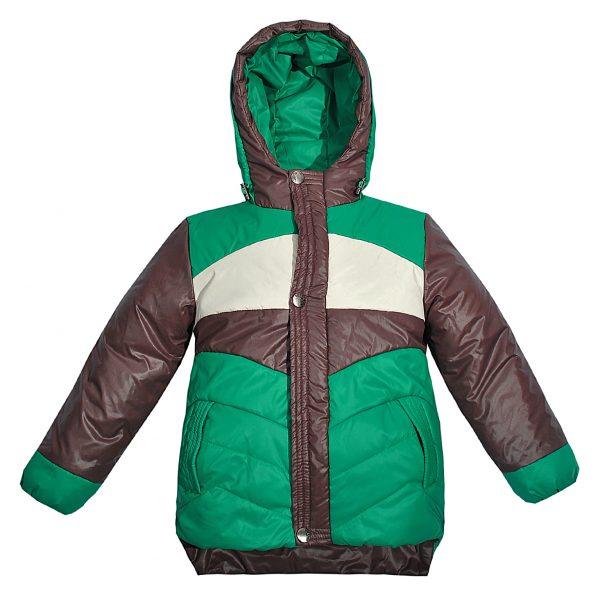 Куртка Одягайко 2733 зеленая