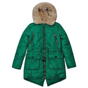 Куртка Одягайко 20061 зелена