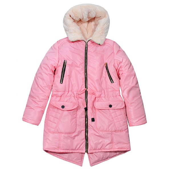 Куртка Одягайко 20061 светло-розовая