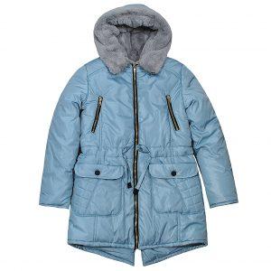 Куртка Одягайко 20061 сіра