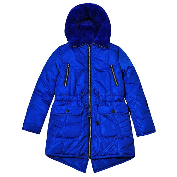 Куртка Одягайко 20061 синя