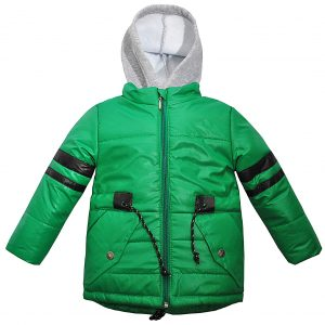 Куртка 22066 зеленая